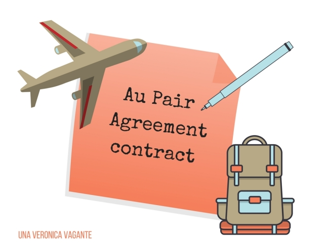 Au Pair Agreementcontract